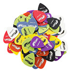 Tiger 100x Assorted Guitar Picks Quality Medium Plectrums