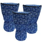 World Rhythm Blue Lightweight Djembe Cases
