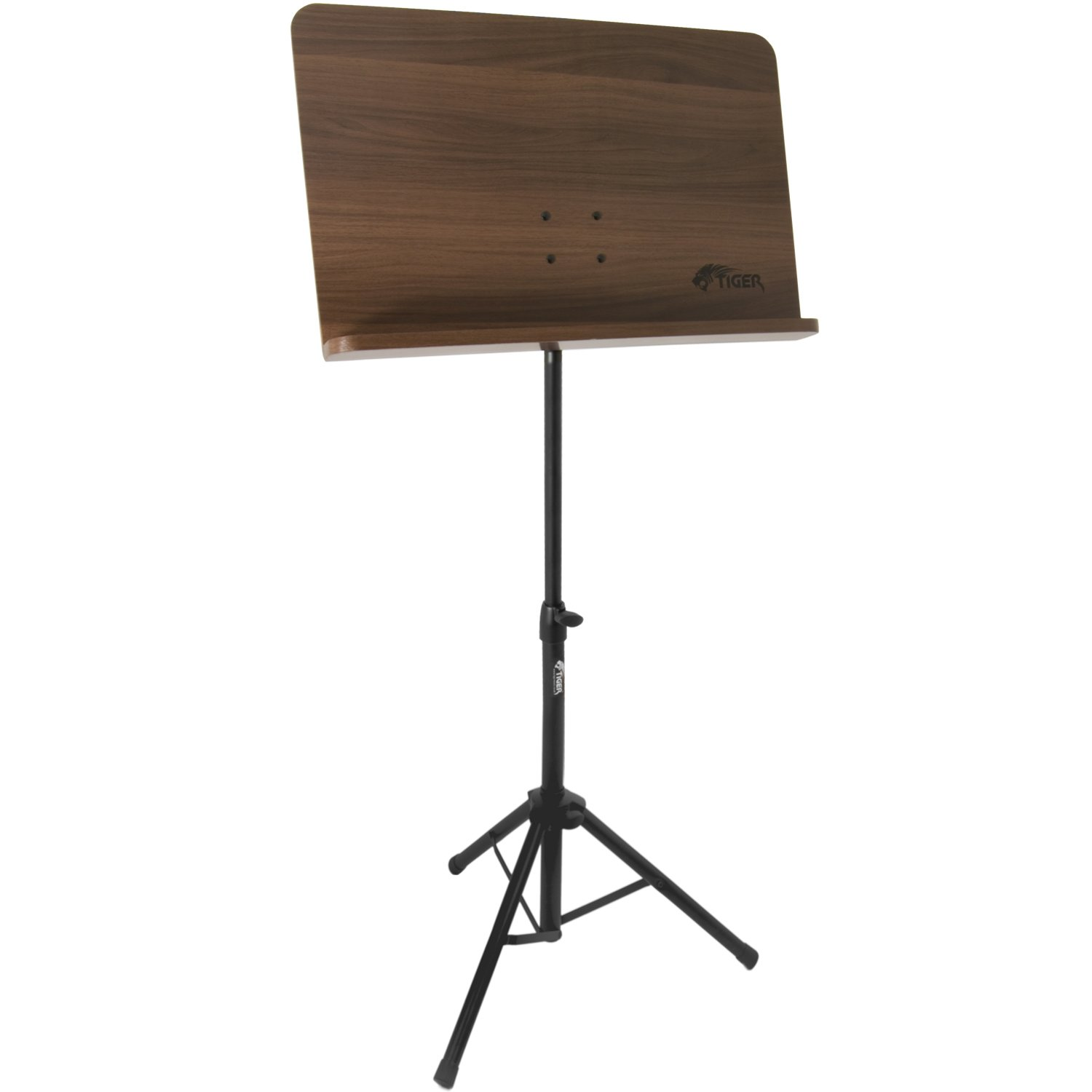 tiger wooden music stand adjustable orchestral sheet music stand