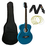 Tiger Original Acoustic Guitar in Blue