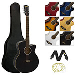 Single Cutaway Acoustic Guitar  Pack