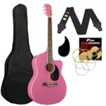 Tiger Pink Acoustic Guitar Kit