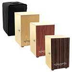World Rhythm Cajon with Padded Bag