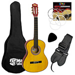 Childrens Classical Spanish Guitar Kids Pack 3/4 Size - Mad About