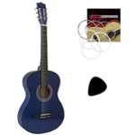 Tiger Childrens 3/4 Size Classical Guitar – Blue