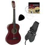 Tiger Childrens 3/4 Size Classical Guitar – Red