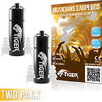 Tiger Professional Musician\\'\\'s Earplugs SNR 20dB – Pack of 2