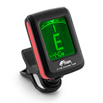 Tiger Chromatic Guitar Tuner - Easy to Use Accurate Clip-on Tuner