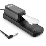 Sustain Pedal for Keyboards and Digital Pianos