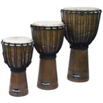 World Rhythm Jammer Swirl Natural Djembe Drums