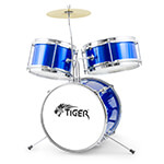 Mad About Junior 3 Piece Drum Kit in Blue