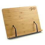 Theodore Bamboo Adjustable Tabletop Book Rest Sheet Music Stand 390mm x 280mm