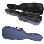 Theodore Lightweight Moulded Violin Cases - Blue