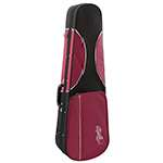 Theodore Lightweight Shaped Violin Hard Case - Red & Black