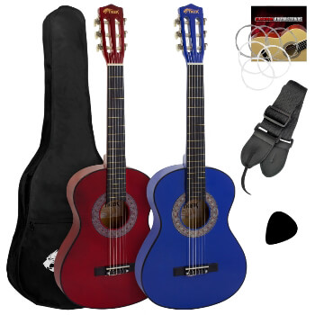 Tiger 1/4 Size Classical Guitar Beginners Complete Starter Kits