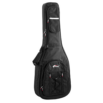 Tiger Acoustic Guitar Gig Bag - Premier Full Size Padded Carry Case