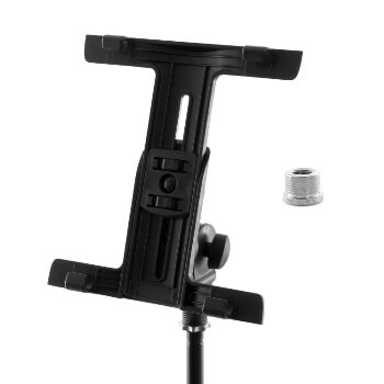 Tiger Tablet iPad Mount for Microphone  Stand with Thread Adaptor