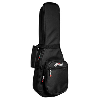 Tiger Deluxe 20mm Padded Soprano Ukulele Gig Bag  With Pocket