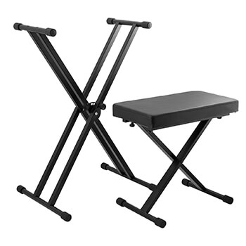 Tiger Deluxe Keyboard Stand & Stool Pack