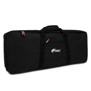 Tiger 76 Key Keyboard Gig Bag with Straps 1279x350x115mm