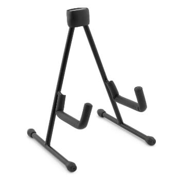 Tiger UAC19-BK Foldable A Frame Stand for Ukulele, Mandolin and Violin – Black